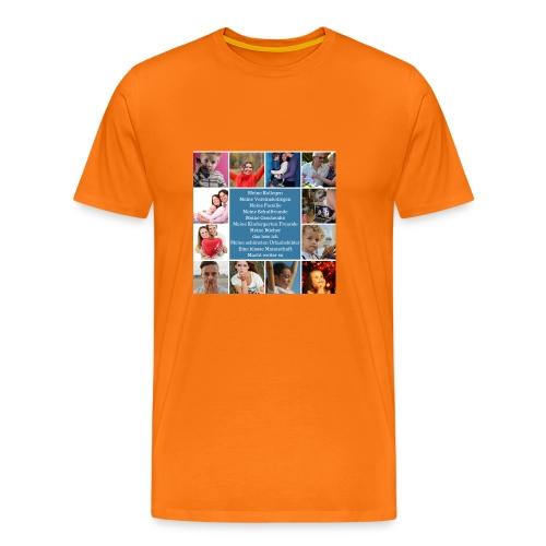 Motiv 4 Design Bild verändern siehe unten - Männer Premium T-Shirt