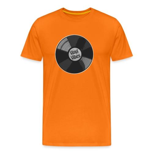 Vinyl Vibes - Männer Premium T-Shirt