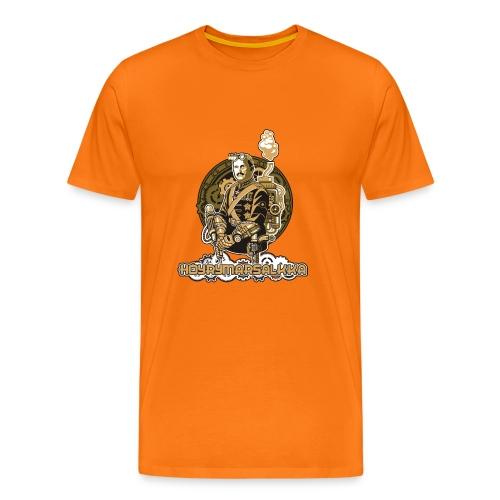 Höyrymarsalkan hienoakin hienompi t-paita - Miesten premium t-paita