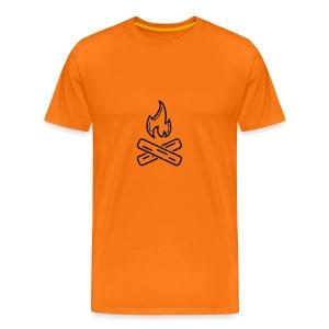 kampvuur - Mannen Premium T-shirt