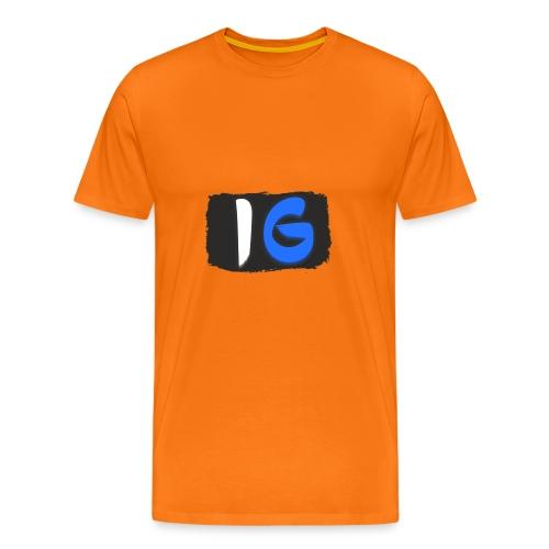 Offical Coloured Logo Design - Men's Premium T-Shirt
