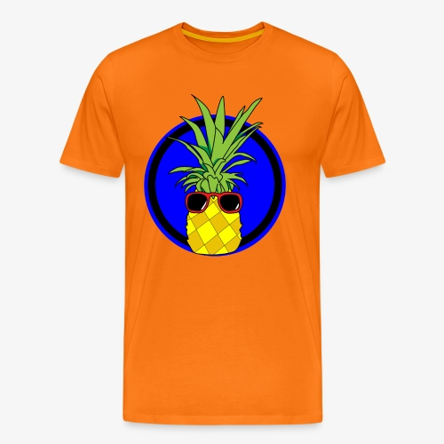 Cool pineapple - Men's Premium T-Shirt