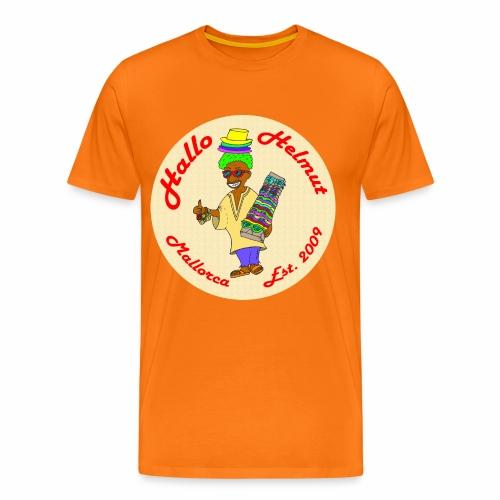 Hallo Helmut Est. 2009 Logo 2 - Männer Premium T-Shirt