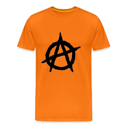 Anarkist Logo - Men's Premium T-Shirt