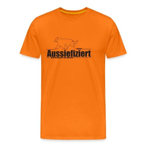 Tasse Australian Shepherd - Männer Premium T-Shirt