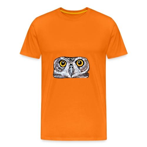 Owl eyes - Men's Premium T-Shirt