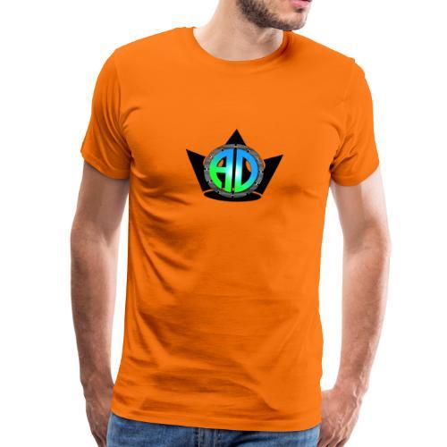 A.D. LOGO - Männer Premium T-Shirt