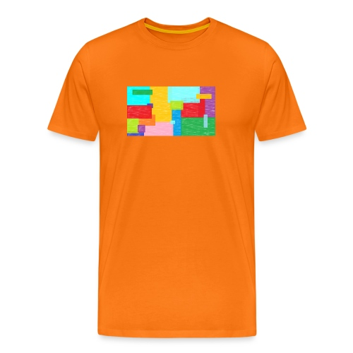 farbefrohe kunst - Männer Premium T-Shirt