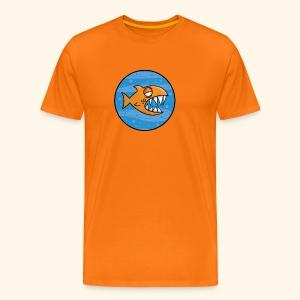 GO, PIRANHA! - Maglietta Premium da uomo