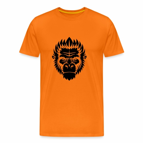 gorilla black - T-shirt Premium Homme