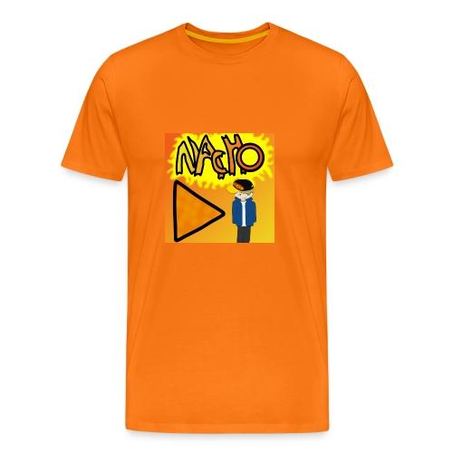 Nacho Title with Little guy - Men's Premium T-Shirt