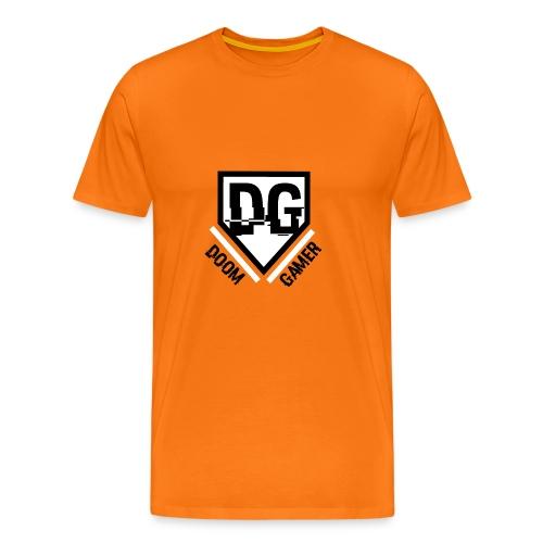 Doomgamer rugzak v2.0 - Mannen Premium T-shirt