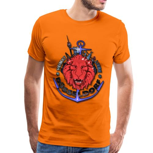 Heimat-Liebe-Düsseldorf - Männer Premium T-Shirt
