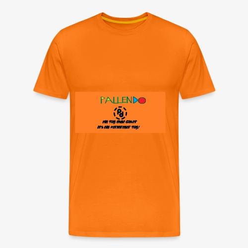 Pallendo Logo mit Schrift und Text - Männer Premium T-Shirt