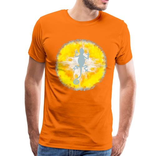 ibiza - lizard in the sun - Männer Premium T-Shirt