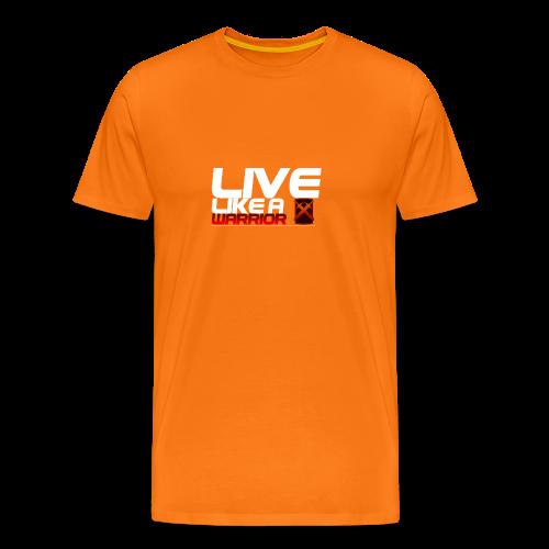 Like like a Warrior - Mannen Premium T-shirt