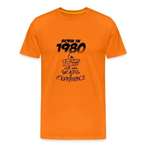 born In1980 - Men's Premium T-Shirt