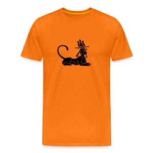 Ägyptische Sphinx - Männer Premium T-Shirt