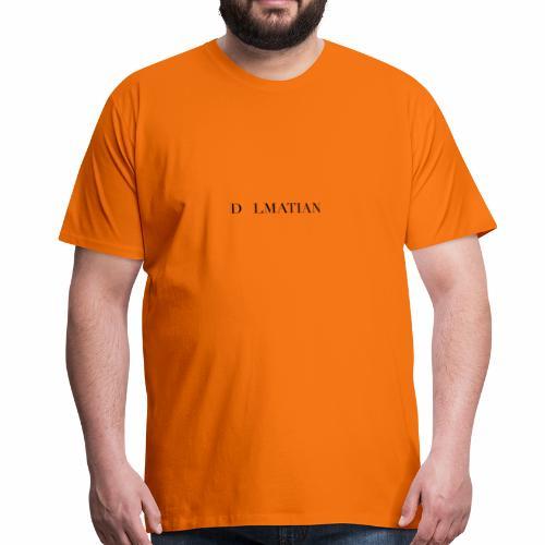 D LMATIAN - Premium-T-shirt herr