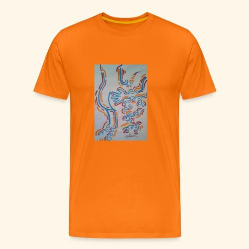 La main au Q. - T-shirt Premium Homme