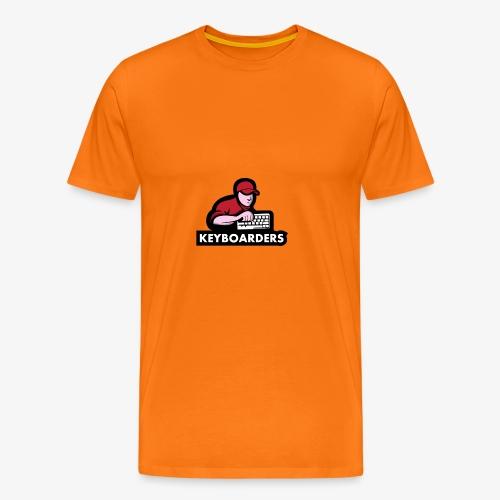 The Keyboarders - Herre premium T-shirt