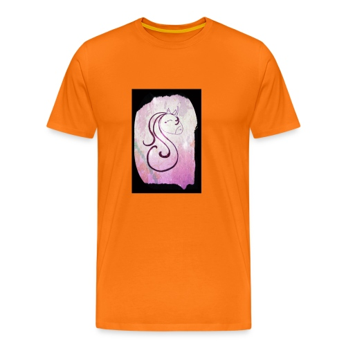Lili la licorne - T-shirt Premium Homme