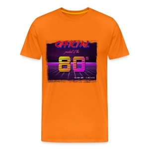 Official product of the 80's clothing - Men's Premium T-Shirt