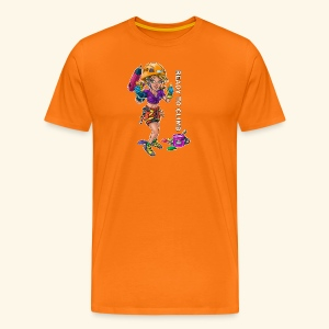 Little female climber - Ready to climb - Men's Premium T-Shirt