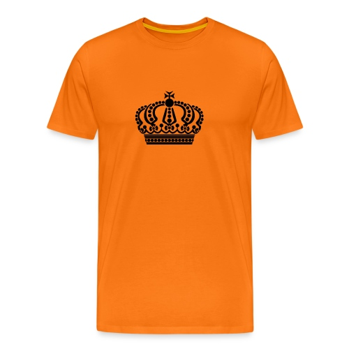kroon keep calm - Mannen Premium T-shirt