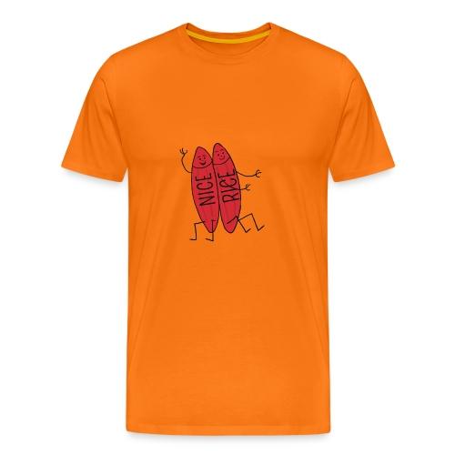 Neisserien > Nice-rice-Brueder - Männer Premium T-Shirt