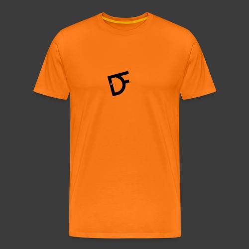 DoubleFace en noir - T-shirt Premium Homme