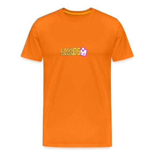 LassZockenDe Logo - Männer Premium T-Shirt
