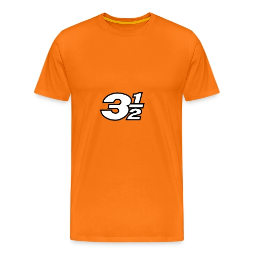 Three and a Half Logo - Men's Premium T-Shirt
