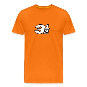 Three and a Half Logo - Men's Premium T-Shirt
