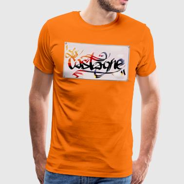 castagne - Premium T-skjorte for menn