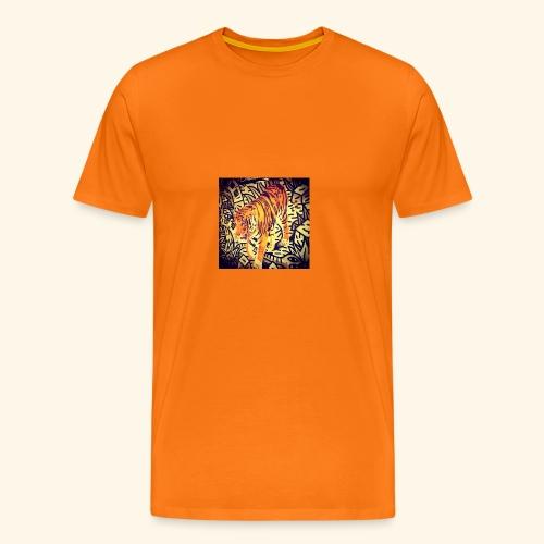 tiger gun 111 - Men's Premium T-Shirt
