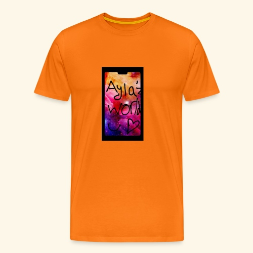Ayla'z World Galaxy T-Shirt - Men's Premium T-Shirt