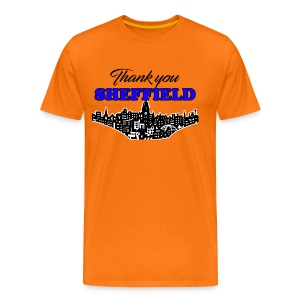 Thank You Sheffield - Men's Premium T-Shirt