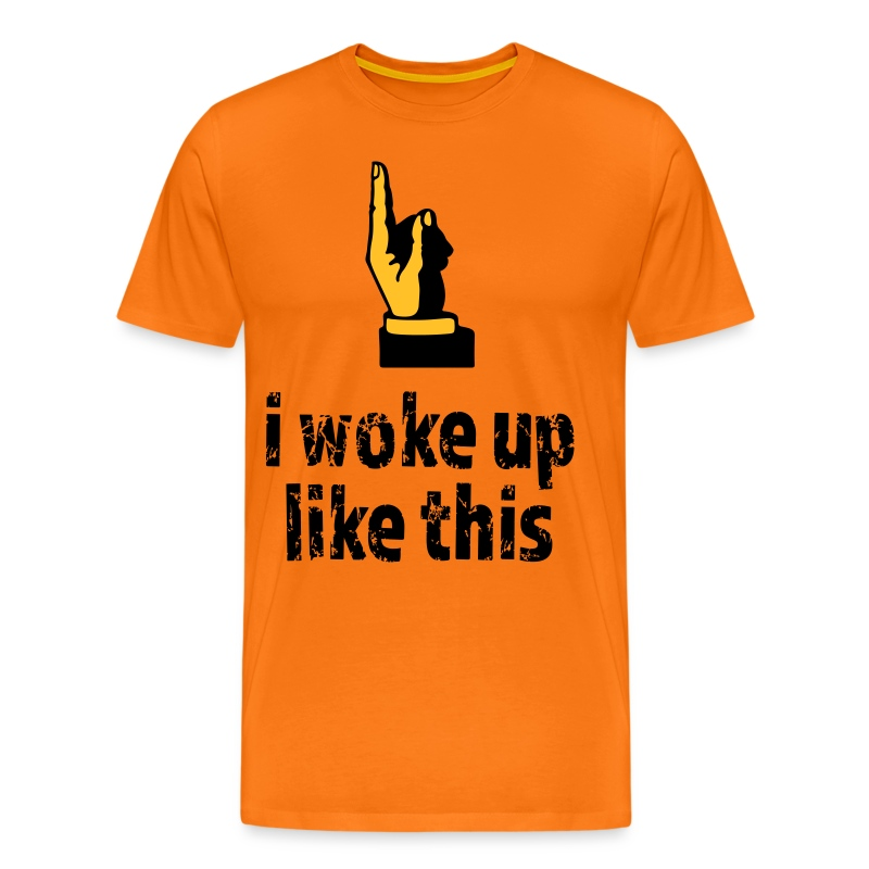 Woke up like this - Männer Premium T-Shirt