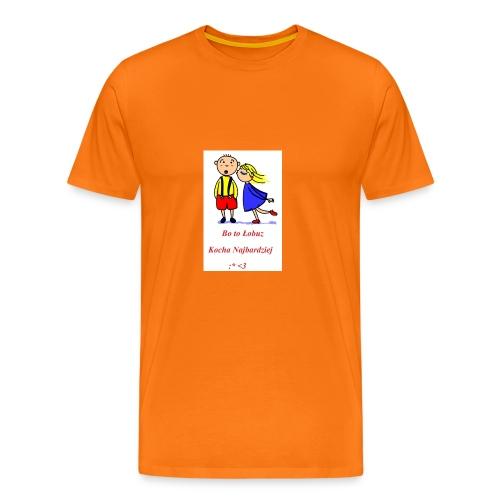 Łobuz kocha najbardziej - Koszulka męska Premium