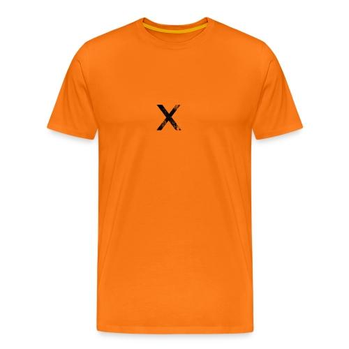 068663 black ink grunge stamp textures icon alphan - Men's Premium T-Shirt