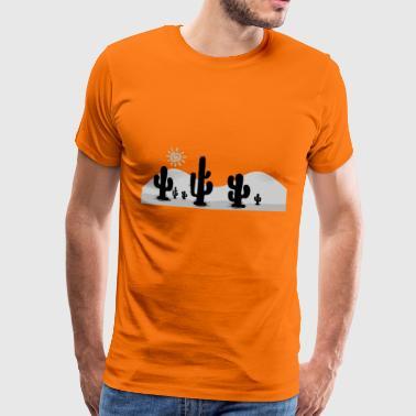 kaktukset - Miesten premium t-paita