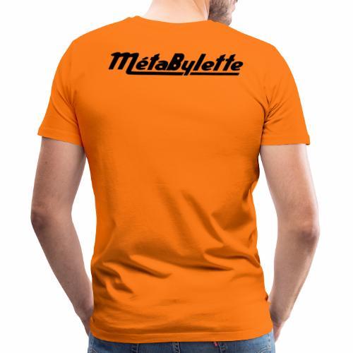 Logo MetaBylette - T-shirt Premium Homme