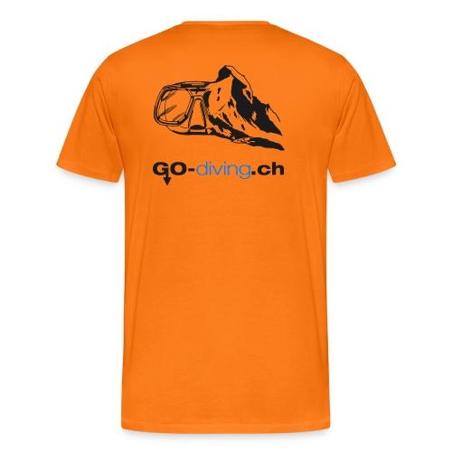 Go-Diving - T-shirt Premium Homme