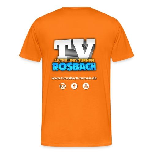 TVROSBACH LOGO Hinten - Männer Premium T-Shirt
