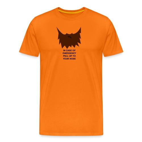 beard2 - Männer Premium T-Shirt