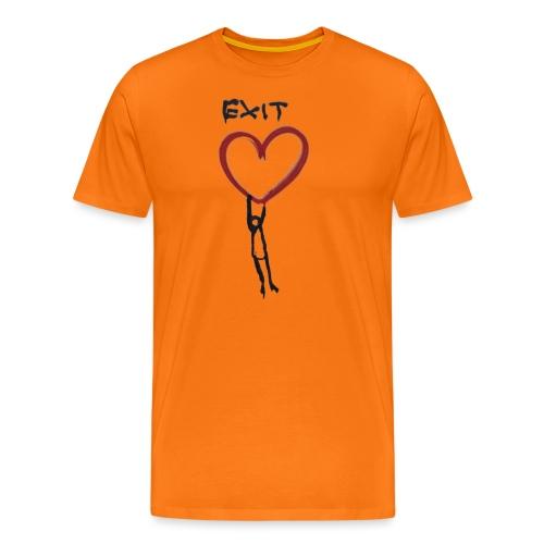 Exit love - Men's Premium T-Shirt