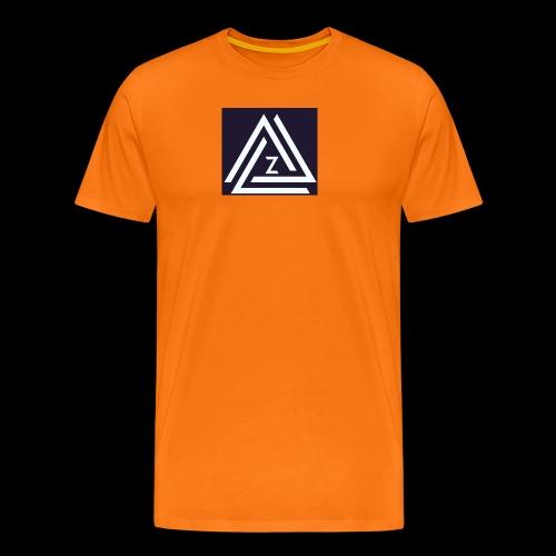 Blue Zovin Logo - Men's Premium T-Shirt