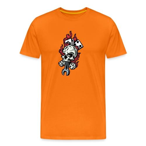 garage old school - T-shirt Premium Homme