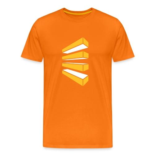 Perspektivblock - Männer Premium T-Shirt